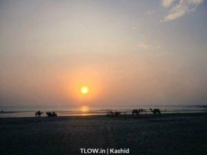 sun-setting-at-kashid-beach