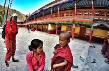 Talk to monks