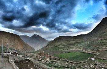 View from Demul village