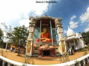 Buddha Statue in Negombo