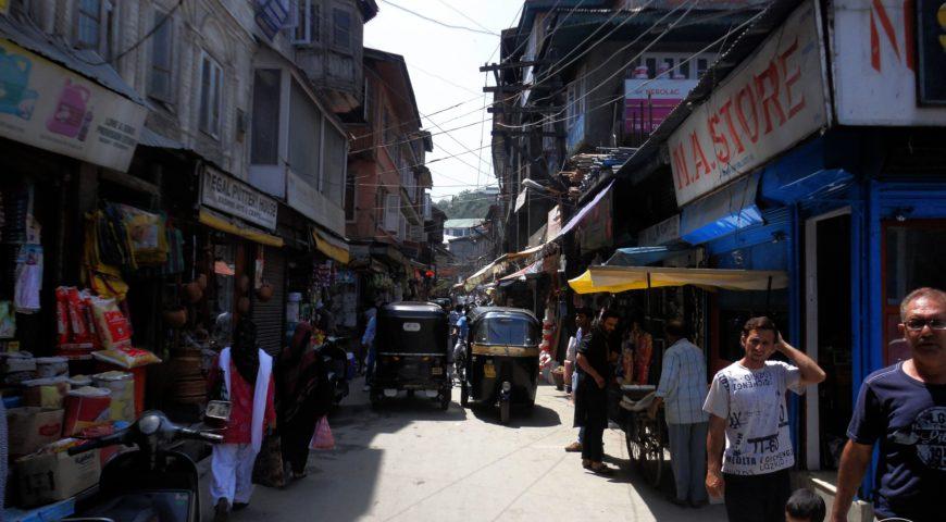 Streets of Srinagar