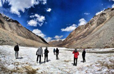 Ladakh snow