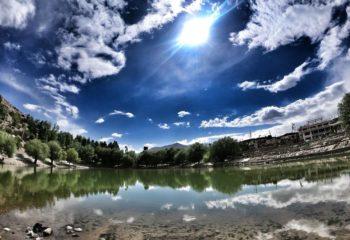 Nako lake and village
